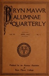 Bryn Mawr Alumnae Quarterly, 1913-1915 by Bryn Mawr College, Alumnae Association