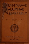 Bryn Mawr Alumnae Quarterly, 1915-1917 by Bryn Mawr College, Alumnae Association
