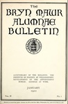 Bryn Mawr Alumnae Bulletin, 1922 by Bryn Mawr College. Alumnae Association