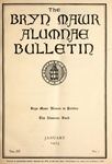 Bryn Mawr Alumnae Bulletin, 1923 by Bryn Mawr College. Alumnae Association