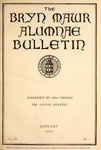 Bryn Mawr Alumnae Bulletin, 1924 by Bryn Mawr College. Alumnae Association