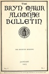 Bryn Mawr Alumnae Bulletin, 1925 by Bryn Mawr College. Alumnae Association