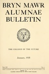 Bryn Mawr Alumnae Bulletin, 1935 by Bryn Mawr College. Alumnae Association