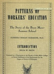 Patterns of workers' education: The story of the Bryn Mawr Summer School