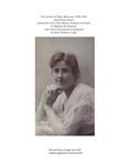 The Letters of Mary Berenson, 1890-1914 edited from letters preserved in the Lilly Library, Indiana University (excerpts)