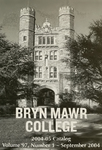 Bryn Mawr College Undergraduate College Catalogue and Calendar, 2004-2005