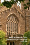 Bryn Mawr College Undergraduate Catalog 2008-09