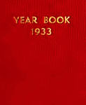 Bryn Mawr College Yearbook. Class of 1933 by Bryn Mawr College. Senior Class