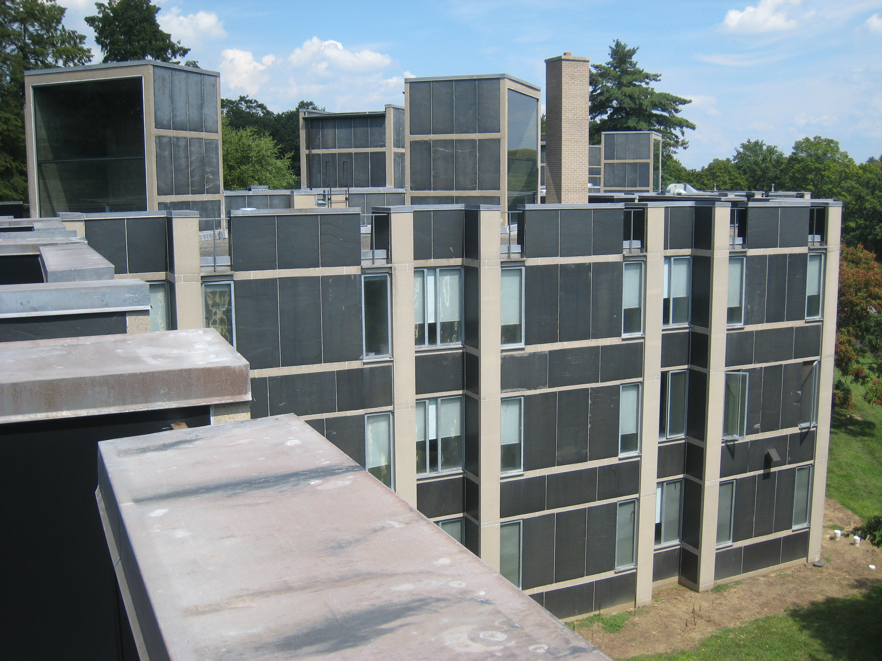 Good Erdman Hall Dormitory Was Designed By Louis Kahn And Was Completed In 1965.  Download Medium Thumbnail Great Pictures
