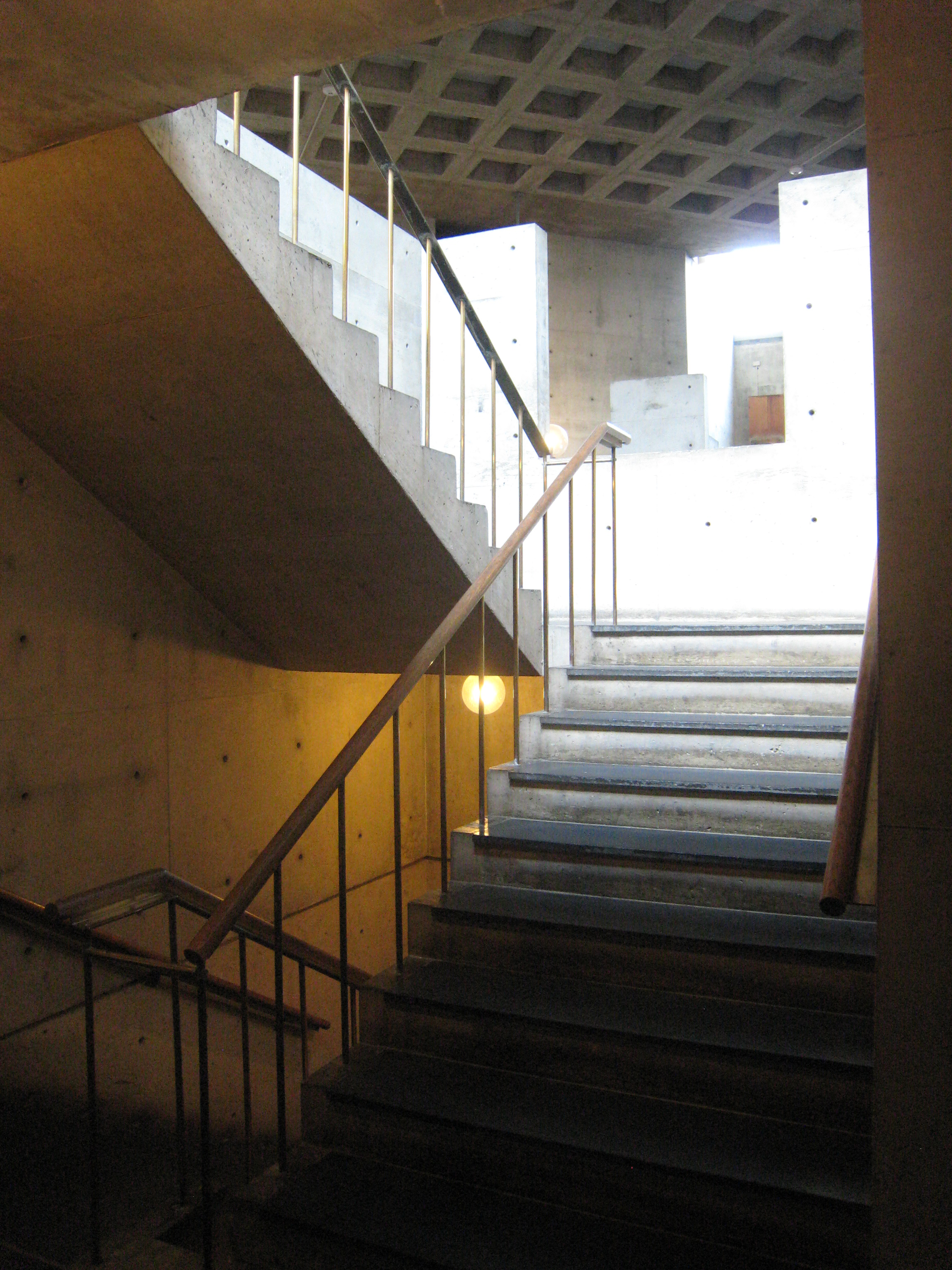 Erdman Hall Dormitory Was Designed By Louis Kahn And Was Completed In 1965.  Download Medium Thumbnail