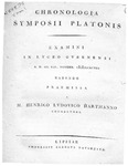 Chronologia Symposii Platonis