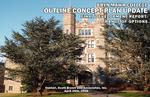 Bryn Mawr College Outline Concept Plan Update. Final Development Report: A Range of Options by Venturi, Scott Brown and Associates