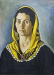 Woman with Yellow Headscarf