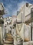Street on Skyros